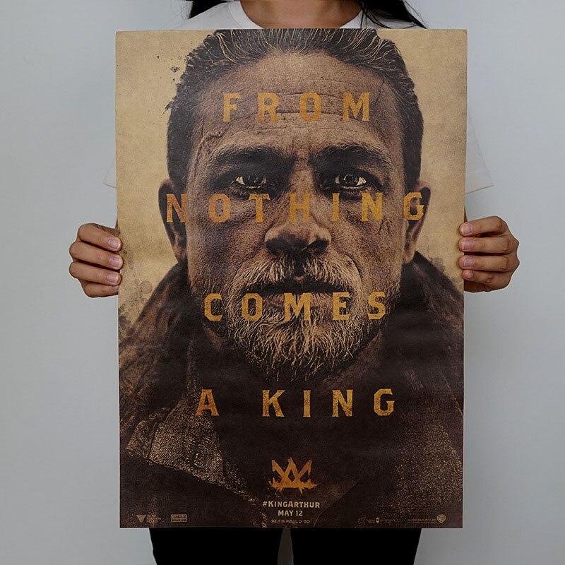 1 шт. винтажные плакаты ретро фильм плакат крафт-бумага плакаты рисунок Классический плакат бар украшение дома живопись стикер стены - Цвет: H03