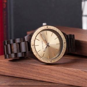 Image 4 - BOBO BIRD Wooden Men Watches erkek kol saati Quartz Handmade Unique Casual Wristwatches Gifts Timepieces Drop Shipping V P05
