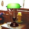 Chiang Bank lamp light retro green cover American office desk lamp retro lamp Republic lamp Specials