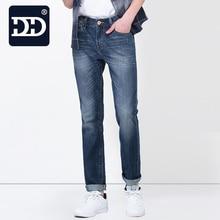 Dingdi Jeans Exclusive Design  Famous Casual Denim  Jeans Men  Straight Slim  Middle Waist  Men Jeans   Vaqueros Hombre