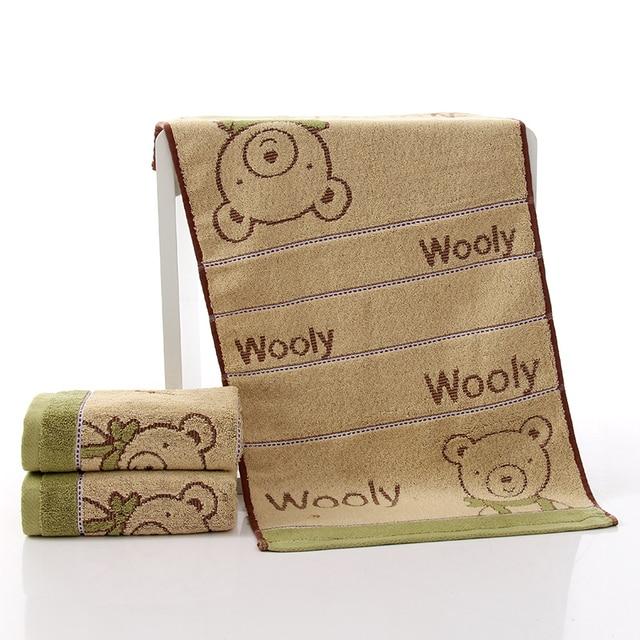 Baby Bath Towel One Pcs 100% Cotton Bathrobe Soft Terry Infant washcloth Kids Bathing Wrap Robe Toddler-sized New