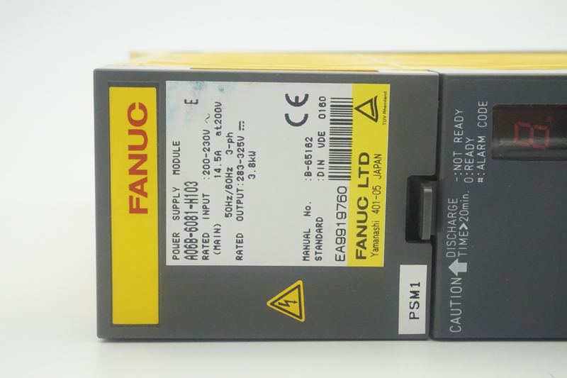 US $724 0 |FANUC servo drive A06B 6081 H103 power supply module-in Motor  Driver from Home Improvement on Aliexpress com | Alibaba Group