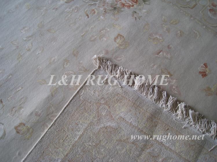 Penghantaran percuma 6'X9 '160Line Hand-knotted Persian Rug, Wool and - Tekstil rumah - Foto 6