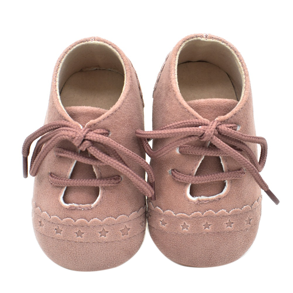 Mother & Kids ... Baby Shoes ... 32796733331 ... 4 ... Newborn Baby Shoes Girls Boys Soft Warm Nubuck Leather Prewalker Anti-slip Shoes Canvas Sports Sneakers Moccasins Footwear Shoes ...