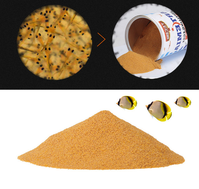 Brine Shrimp egg artemia shelling egg baby fish food feed aquarium tropical fish salty fish guppy betta