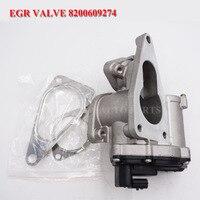 For Suzuki Grand Vitara Mk2 1.9 DDiS EGR Valve 1811167JG5LCP 1811167JG3 8200609274 8200630740 8200796571 408 265 001 010Z