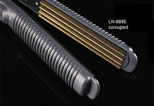 Image 5 - Professional Electronic Hair Straighteners Tools Straightening Corrugated Iron 110 220 V Corrugation Crimping Chapinha Flat Iron