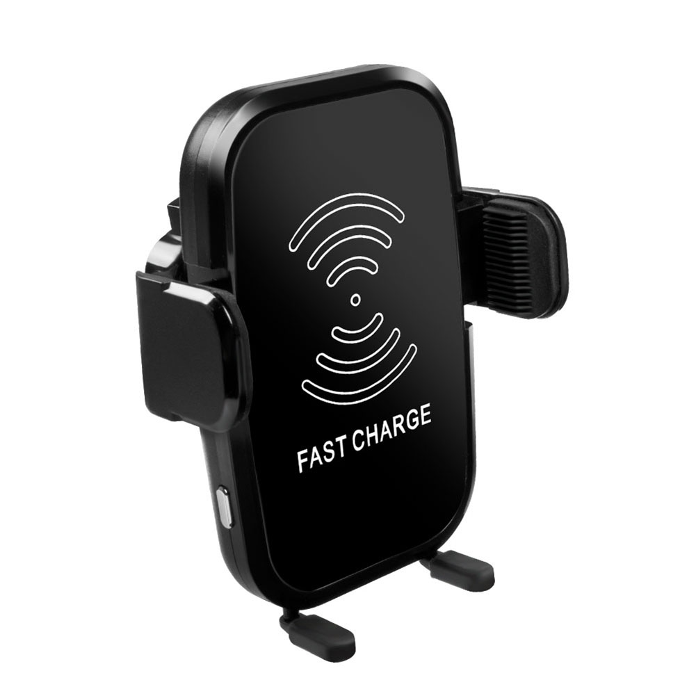 New Car Vehicle Auto Wireless Charger Infrared Sensor Mount Holder Automatic For Android iPhone CSL2018 car swivel mount holder w car charger set for lg p990 p993 black