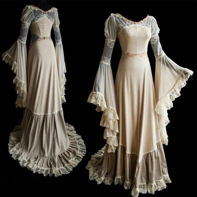 Hot Sale 18th Medieval Dress Women Renaissance Princess Dress ...