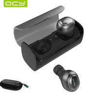 QCY Q29 Mini Dual V4 1 Wireless Bluetooth Headphones Headsets With Charging Case Stereo Sound Earbuds