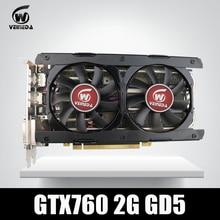 Video Card Veineda GTX760 2GB GDDR5 256Bit 6004MHz DVI HDMI Stronger than GTX950, GTX750Ti