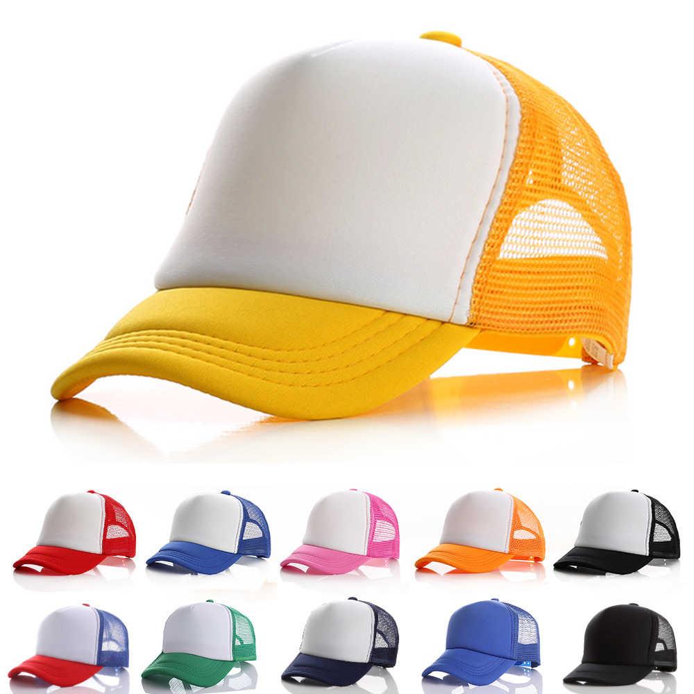 1-12Y תינוק בייסבול כובע ילד ילדה קיץ כובע ילדי כובעי גדול בנות בני כובע שמש לילדים nonnet כובעי פעוט אלחוטית מלאה zonnehoed