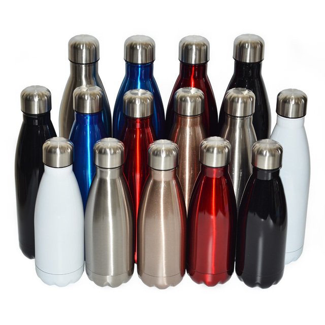Vacuum Flask Thermos Bottle Insulated Stainless Steel Sports Water Leak Proof Great For Coffee