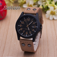 2018 Men Watch Luxury Brand Fashion Male Wristwatch Waterproof Sport Watch Casual Cowhide Copy Leather Quartz