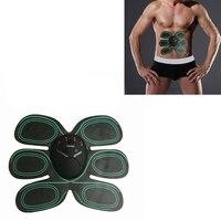Smart EMS Abdominal Exerciser Fitness Body Massager Stimulator Muscles Intensive Training Arm Exerciser Electric Slimming Massag