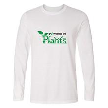 """Powered By Plants"" longsleeve shirt"