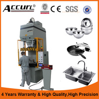Accurl C Frame High Precision Compact Hydraulic Press Price Automatic Power Press Machine
