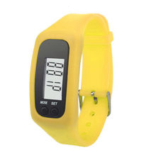 Digital LCD Pedometer Run Step Walking Distance Calorie Counter Watch Bracelet 7.4(China)