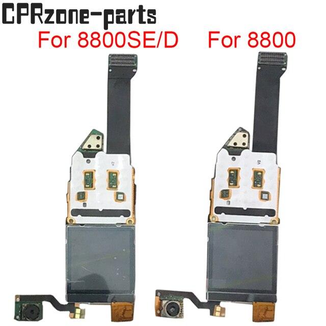 100% รับประกันหน้าจอ LCD จอแสดงผล flex cable สำหรับ Nokia 8800 Sirocco 8800SE 8800D 8800 lcd จัดส่งฟรี