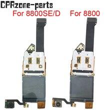 100% garantie LCD Screen Display mit flex kabel Komplett Für Nokia 8800 Sirocco 8800SE 8800D 8800 lcd freies versand