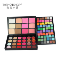 1PCS 96 Colors Christmas Professional Branded Makeup Sets Eyeshadow Lipgloss Powder Blusher Concealer Beauty Palette Studio