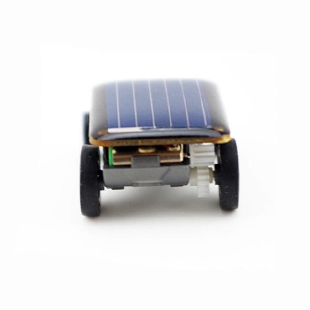 Smallest Mini Solar Power Toy Car 4