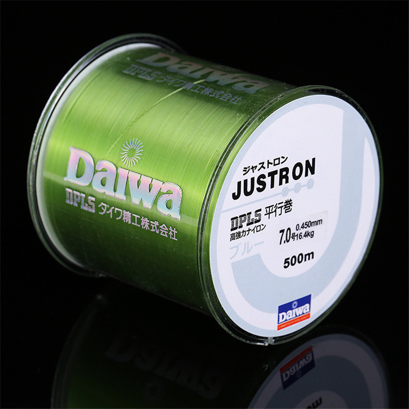 500m Super Strong Fishing Line Japan Monofilament Nylon Fishing Line 2-35LB title=