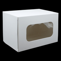 White Gift Package Cardboard Box Wedding Party Favor Gift Craft Storage Paper Boxes Candy Chocolate Packaging