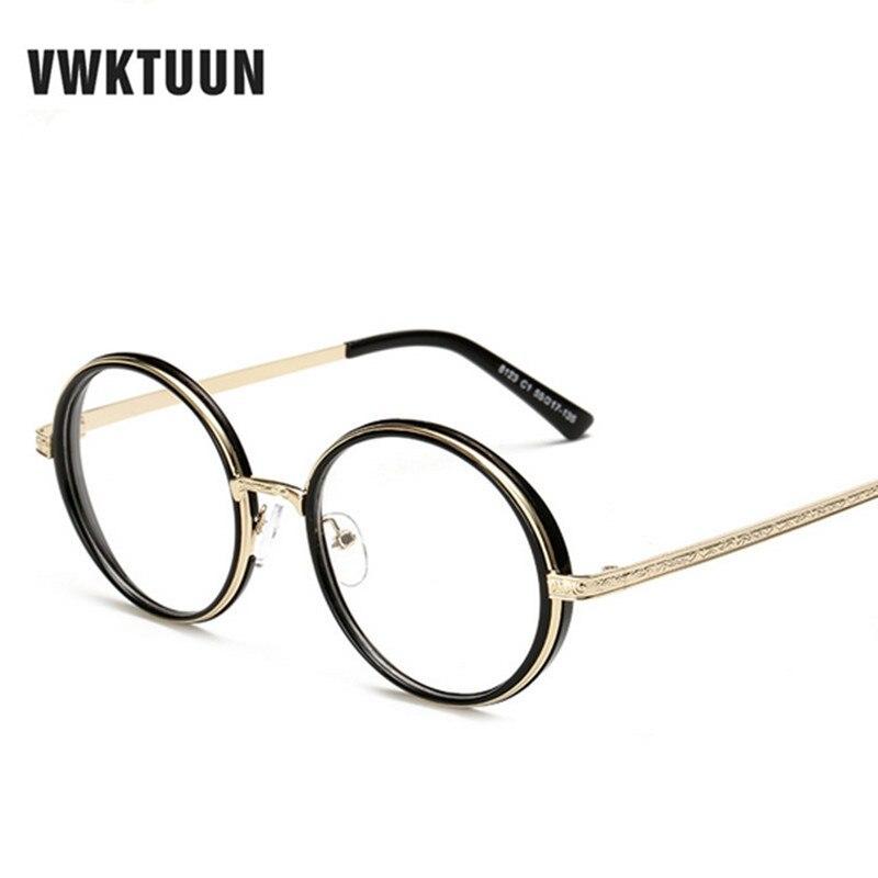 1823cec4e1f9a5 VWKTUUN Lunettes Rondes Femmes Exagéré lunettes de sol Plaine lunettes de Soleil  Hommes Lunettes de Soleil Vintage lunette de soleil Lunettes Cadre