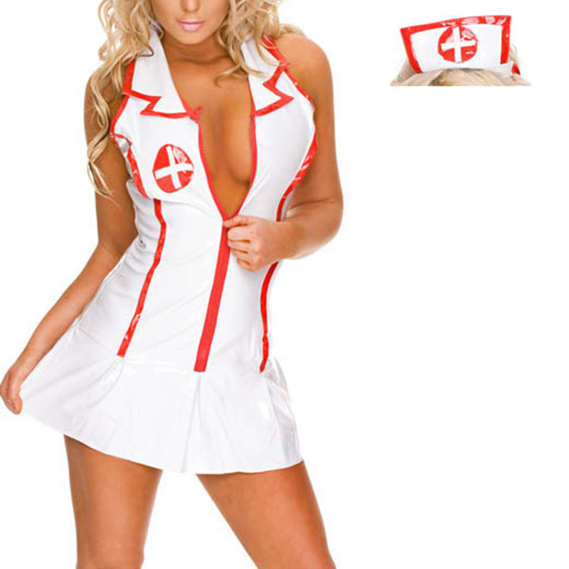 Naughty Sexy Nurse Costumes for Women batgirl pocahonta Hot Erotic Sexy Lingerie Uniform Woman sexy Doctor Costumes Suit