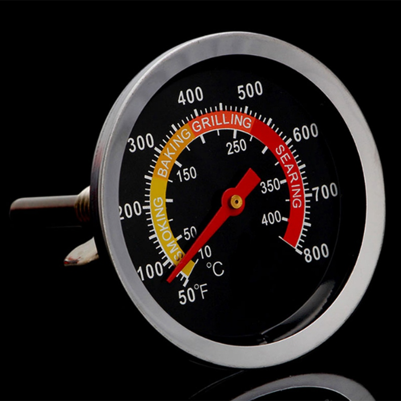 Temperature Gauge Selling Barbecue BBQ Smoker Grill Stainless Steel Thermometer