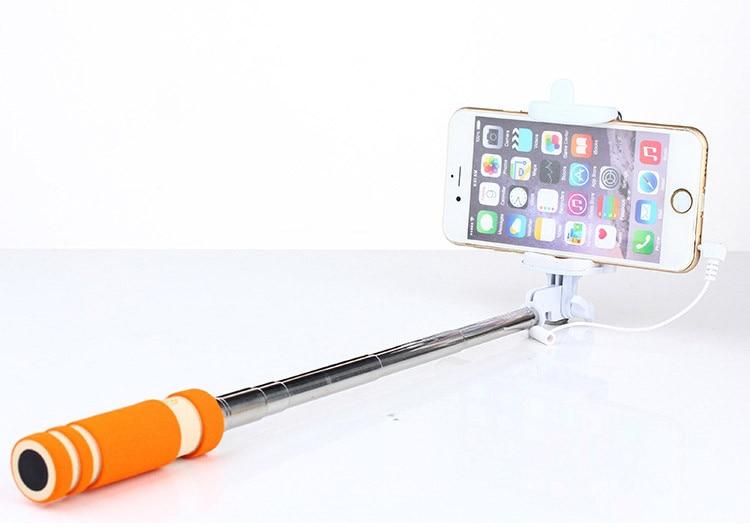 Hot Portable Mini Folding Mobiltelefon Kablet Selv Selfie Sticks For - Kamera og foto - Foto 3