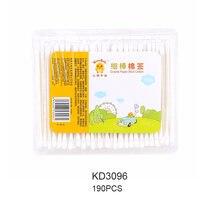 Безопасные детские ватные тампоны в форме тыквы чистые уши палочки