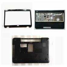Nowa dolna podstawa skrzynki pokrywa dla DELL dla Inspiron 15R N5110 M5110 PN: 005t5/podpórka na nadgarstek górna pokrywa/wyświetlacz LCD ekran Bezel