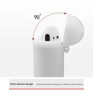 Image 4 - Schokbestendig Voor airpods Case Oortelefoon TPU Siliconen Bluetooth Draadloze Hoofdtelefoon Protector Cover Voor apple airpods Case Cover