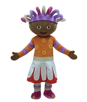 Upsy Daisy garden baby Mascot Costume for Halloween christmas Party Costume Character Outfit Fancy dress