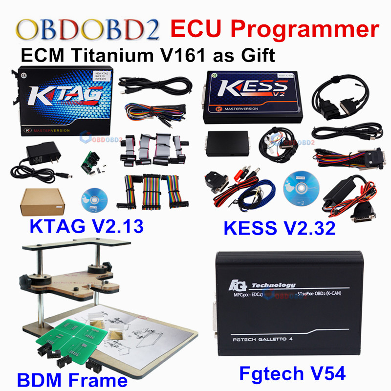 Newest Kess V2 4 036 V2 32 OBD2 Manager K TAG 2 13 FW6 070 Ktag