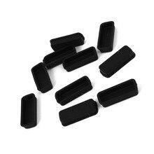 10 шт Черный силиконовый Анти пылезащитный чехол для DVI видео порта