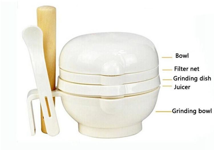 7PCS Manual Food Processor Baby Food Mills Grinder Supplies Multifunction Baby Set For Food Infant Juice Food Press Machine (4)