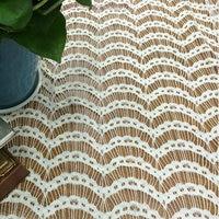 Hot Sale Nylon Fabric Cotton Fabric Strand Fabric Eyelash Lace Fabric 150cm 5yards Hollow Lace Dress