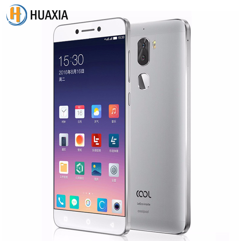 "bilder für Letv leeco coole 1 cool1 android 6.0 5,5 ""octa-core 4060 mah coolpad 3g/4g ram 32g/64g rom 13mp dual kameras fingerabdruck handy"