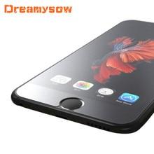 Pas dempreinte digitale verre trempé mat pour iphone 12 Pro 12Mini 11 Pro Max XS MAX XR X 7 8 6S 6 5 5S SE2 12 Film protecteur givré