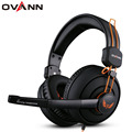 Ovann X7 Game Headphone Earphone 7.1 Surround Sound  Gaming Headset with Microphone for PC computer Gamer