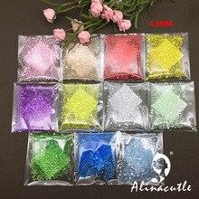 30 г 4,5 мм хрустальные Акриловые Алмазные блестки Швейные аксессуары для одежды пайетки для поделок скрапбукинга коктейли