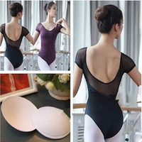 Ballet Leotard For Women New Arrival Summer Short Sleeve Comfortable Ballet Practice Wear Cheap Gymnastics Leotards