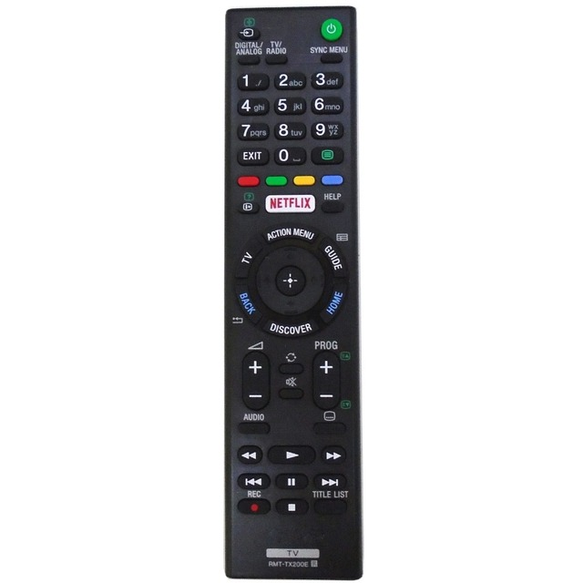 New RMT TX200E Replac for SONY TV Remote Control For XBR 49X707D XBR 49X835D KD 65X7505D KD 49X7005D KD 55X7005D Fernbedienung
