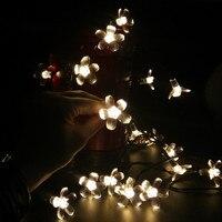 Cherry Pendant 22M 200 Leds Solar String Lights Decoration For Christmas Party Outdoor Garden La Luce