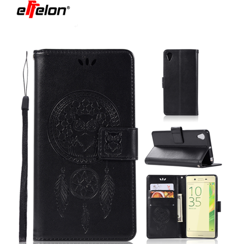 New Luxury Flip PU Leather Wallet Case for Sony Xperia X Performance Phone Cases Cover Card Holder for Sony Xperia X Performance