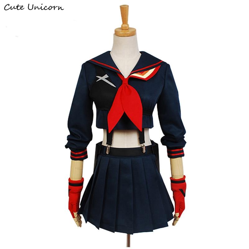 Cute Unicorn KILL la KILL Ryuko Matoi Cosplay Costume Anime Party Dress halloween costumes for women