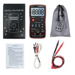 RM408B cyfrowy przycisk multimetru 8000 zlicza test temperatury true rms częstotliwość 5MHz ACDC w Mierniki wielofunk. od Narzędzia na